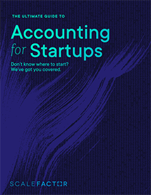 The Ultimate Guide to Accounting for Startups ebook cover